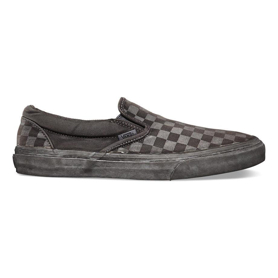 Кеды Vans Classic Slip-On CA VIL5BQN черные - купить в интернет ... d89c7c45d4b5b