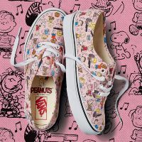 Кеды Vans UA AUTHENTIC PEANUTS VA38EMQQ3 розовые