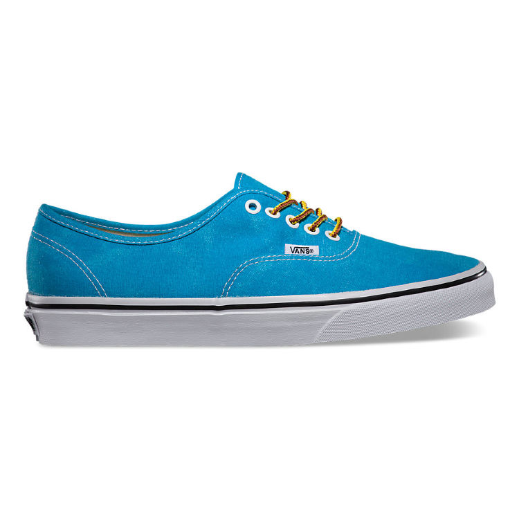 Кеды Vans Authentic (Washed) VVOE6H5 голубые