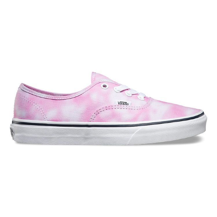 Кеды Vans Authentic Tie Dye V3B9IWD розовые