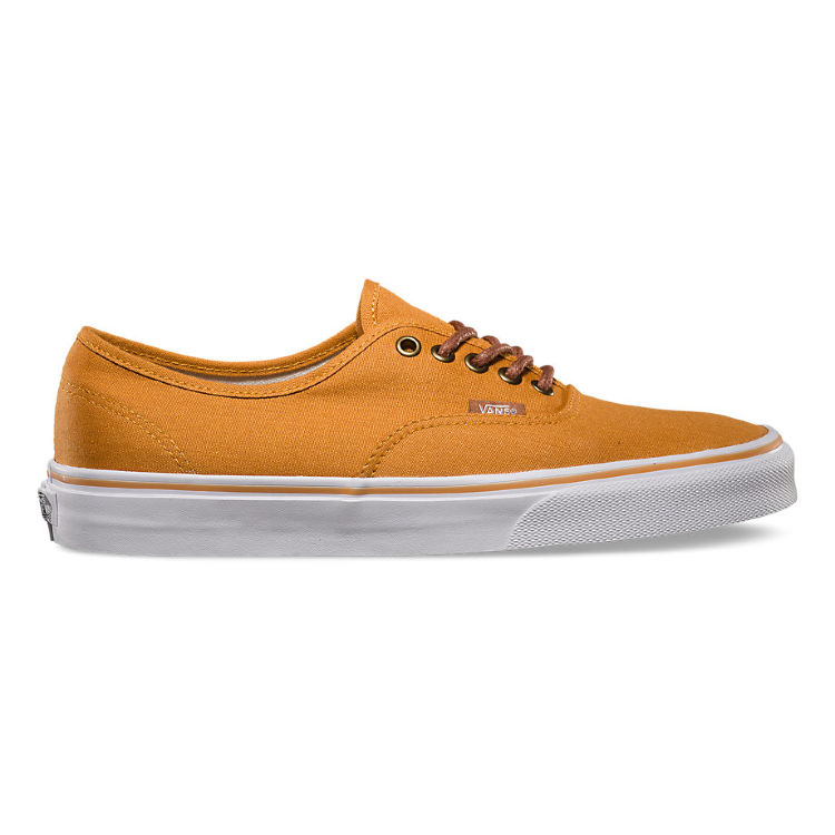Кеды Vans Authentic inca gold/tortoise shell VW4NDQK оранжевые