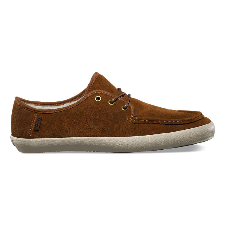 Кеды Vans WASHBOARD (Fleece) monks VUCWDV9 рыжие