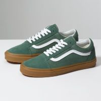 Кеды Vans OLD SKOOL DUCK  VA38G1Q9V зеленые