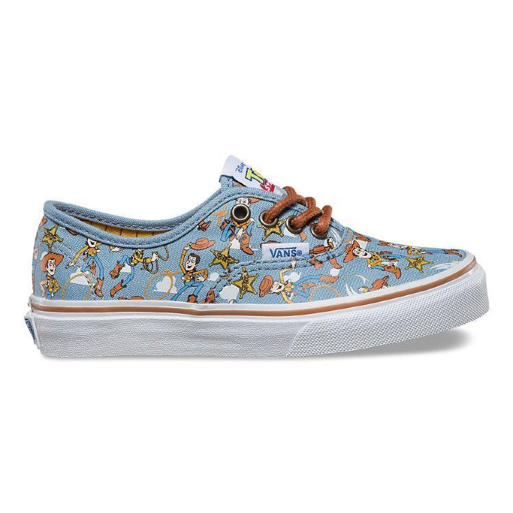 bf7749caf574 Детские кеды Vans Authentic (Toy Story) Woo VA32R6M4Z разноцветные