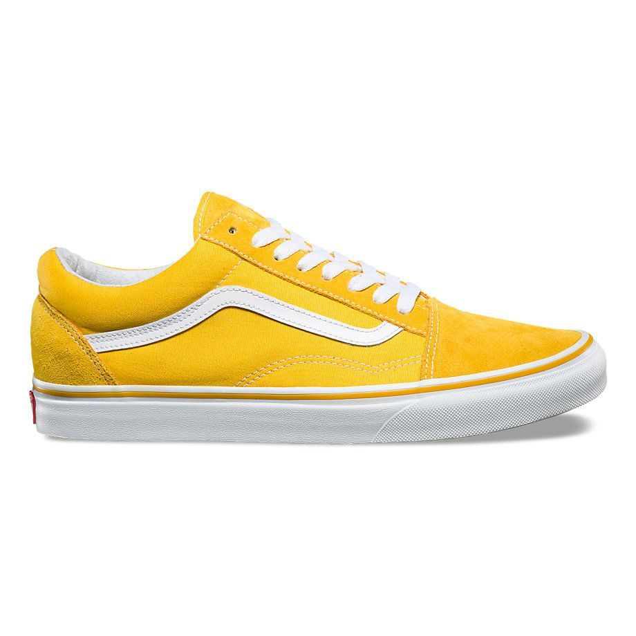 Кеды Vans Old Skool VA38G1MWH желтые - купить в интернет-магазине ... 30d10f91a7ebc