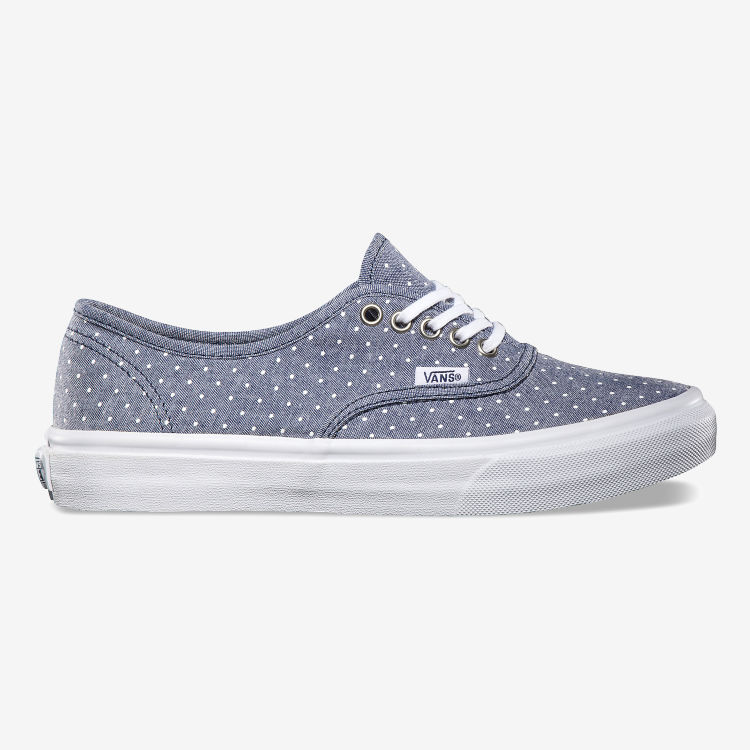 Кеды Vans Authentic Slim (ChambrayDots) VQEV8JA синие
